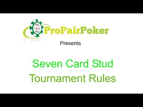 Seven Card Stud Rules