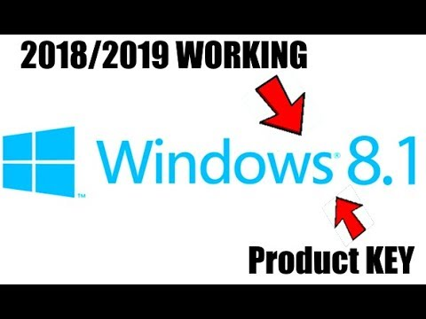 WINDOWS 8.1 ALL VERSIONS PRODUCT KEY 100% 2017