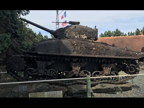 D-Day wrecks museum, Port-en-Bessin, France