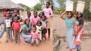 Afrika'nın bir köyünde uyanmak ve yaşam   MOZAMBİK