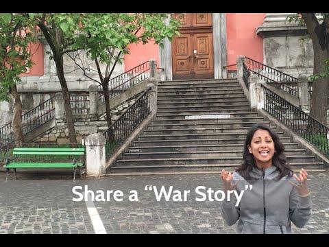 Share a War Story | Poornima Vijayashanker