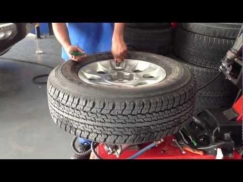 Tyre Valve Installation