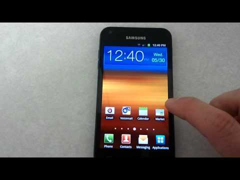 Samsung Galaxy S2   Gmail Account and Application Setup