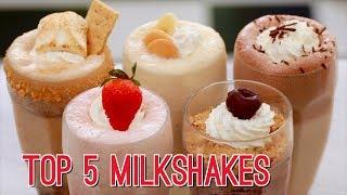top 5 homemade milkshakes gemmas bigger bolder baking ep 175