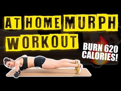 At Home Murph Workout 🔥Burn 620 Calories! 🔥