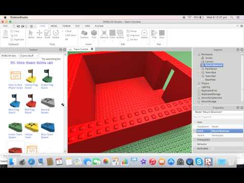 Roblox how to make a team combat game (MAC)