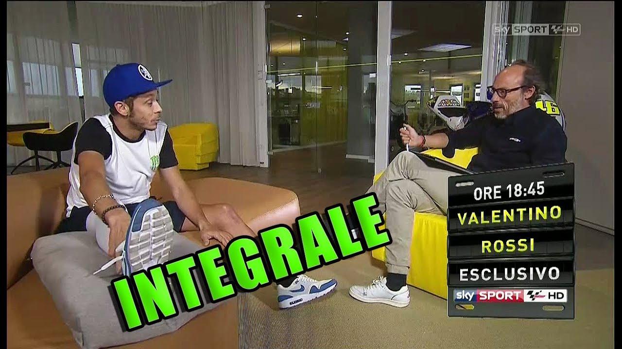 """Valentino ROSSI - INTEGRALE - INTERVISTA DA GUIDO MEDA: """"SONO STATO TANTE VOLTE IN ENDURO.."""""""