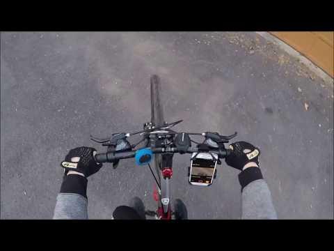 biking with gopro