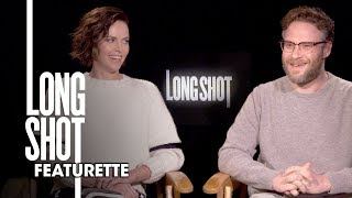 """Long Shot (2019 Movie) Official Featurette """"Seth and Charlize"""" – Seth Rogen, Charlize Theron"""
