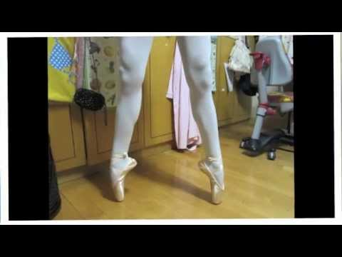 Pointe tutorials-How to break in new pointe shoes