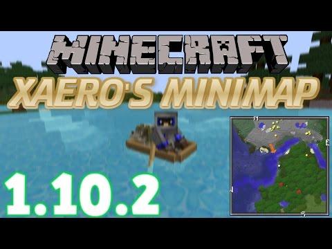 How To INSTALL Xaero's Minimap Mod (With Forge) [Minecraft 1.10.2]