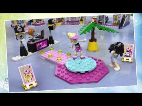 Heartlake Shopping Mall   - LEGO Friends - Product Animation 41058