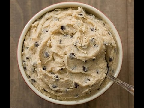 how to make cookie dough without eggs