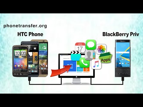 How to Transfer All Data from HTC Phone to BlackBerry Priv, Sync HTC with BlackBerry Priv