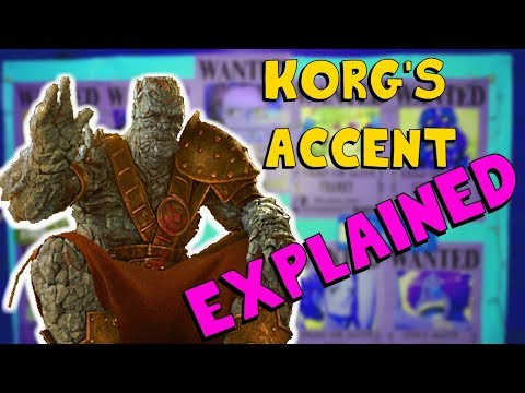 Korg's Accent from Thor Ragnarok EXPLAINED | New Zealand Maori accent