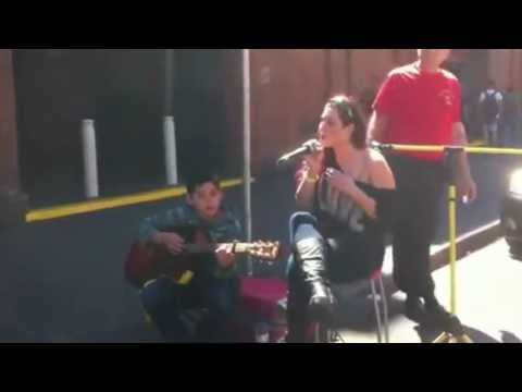Cassandra singing Read All About It Part III
