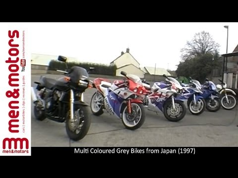 Multi Coloured Grey Import Bikes From Japan (1997)