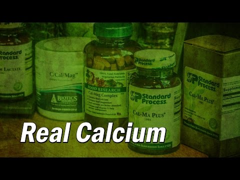 Real Calcium - Don't use Insoluable Forms of Calcium