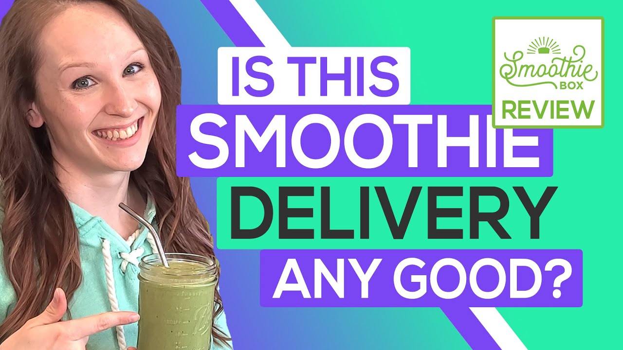 🥤 SmoothieBox Review & Taste Test: Are These Flash Frozen Smoothies Any Good?