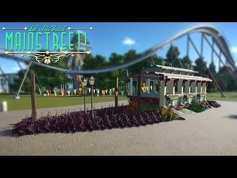 Planet Coaster - Disney-style Tram | Building Mainstreet! #2