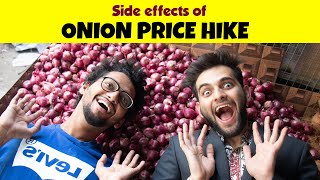 Side effects of Onion Price Hike | Funcho