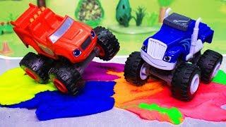 Download Вспыш и чудо машинки: Цветной трек! Мультики с игрушками Video