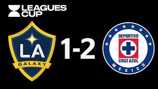 Resumen y Goles   Cruz Azul vs Galaxy   Leagues Cup - 2019