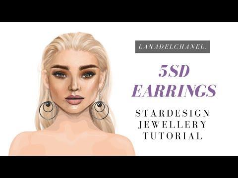 5 STARDOLLAR EARRINGS | Stardoll Stardesign Jewellery | LanaDelChanel.