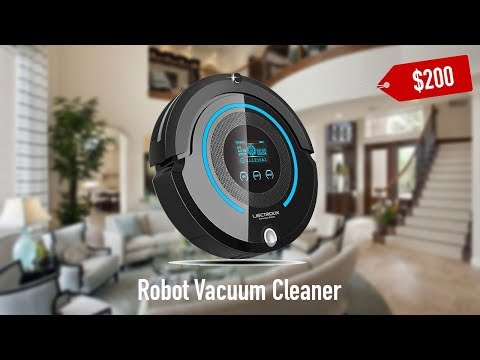 $200 Budget Smart Home Robot Smart Vacuum Cleaner Unboxing and Review - 2017