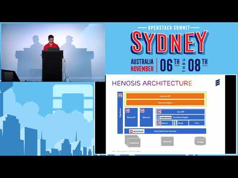 Project Henosis Unified management of VMs and Container based infrastructure for OpenStack