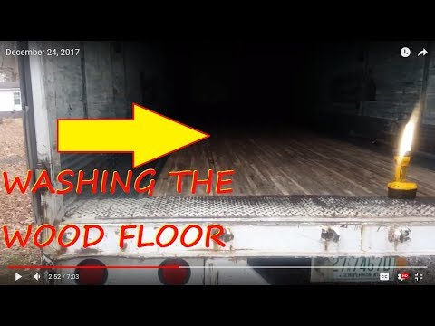 Cleaned The dry Vans Wood Floor!
