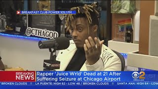 TMZ: Rapper 'Juice Wrld' Dead At 21 After Suffering Seizure At Chicago Airport