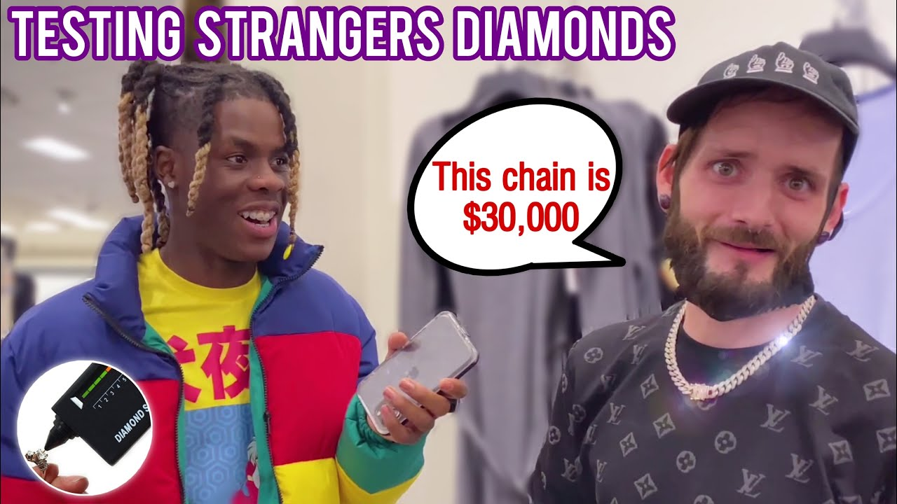 Testing Strangers Diamonds 😭💎Atlanta Mall Edition 6 | Public Interview