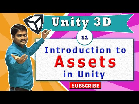 Unity Essentials Tutorial 11 - Assets & Types of Assets