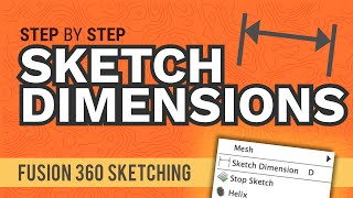 How to Create Slots in Fusion 360 Sketches (All 5 explained