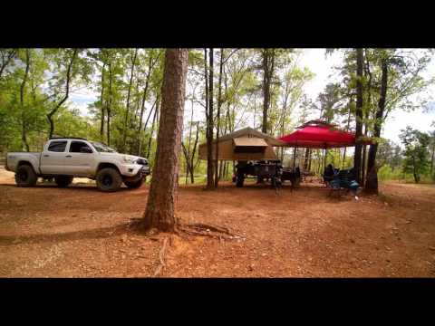 Camp Setup at Choccolocco Mountain ORV Park this weekend (4/14-17/2016)