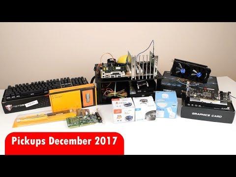 Pickups December 2017