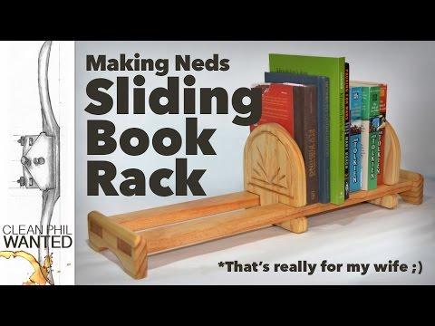 Making a Sliding Book Rack