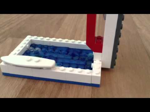 lego diving board/lego shark attack 3
