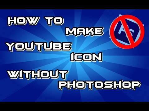 How to make Youtube Icon without PhotoShop