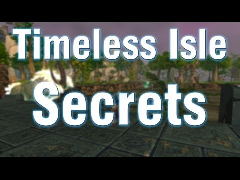 Timeless Isle Secret Chests, Jump Puzzles and More! - WoW Patch 5.4 PTR