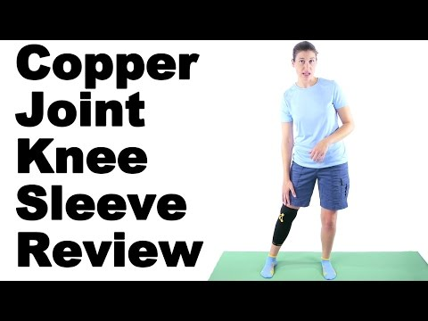 Copper Joint Knee Sleeve Review - Ask Doctor Jo