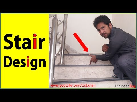 How to design stairs?
