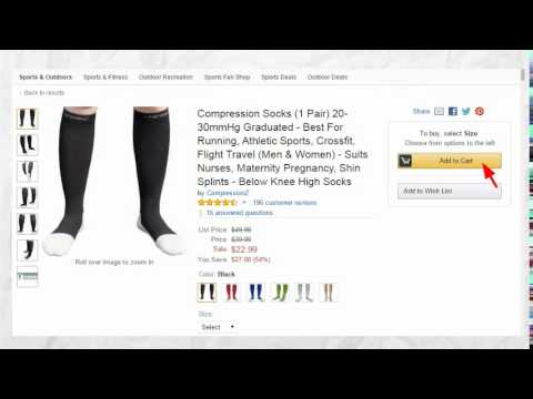 How to buy compression socks