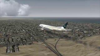 PIA 777-200 Emergency Landing Kuwait ++ FSX