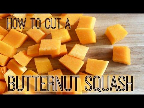 How To Cut A Butternut Squash | Cubes