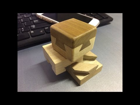 Dovetail Cube - Making