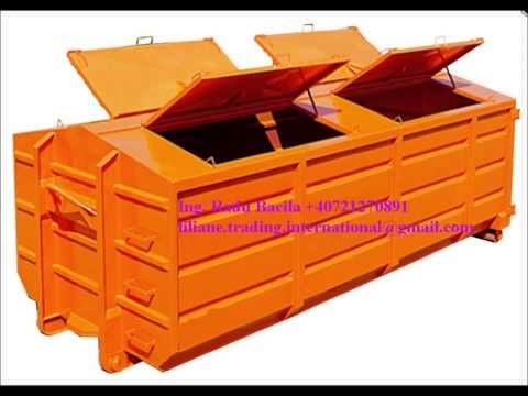 Container deseuri menajere - House hold waste container - Liliane Trading International