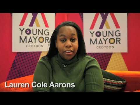 Croydon Young Mayor candidate - Lauren Cole Aarons