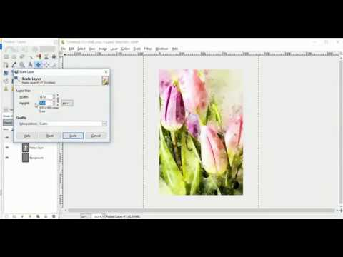 Tutorial: How to Create A Simple E-Book Cover in Gimp